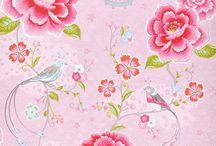 papier peint tissu
