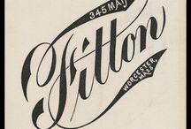 typography / by olga grlic