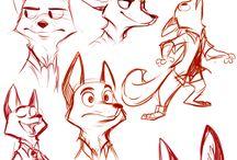 Dibujos de Zootopia