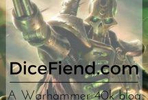 Necrons Warhammer 40k / Warhammer 40k Necron stuff that DiceFiend.com loves.