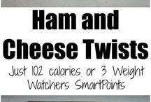 ham and cheese twist