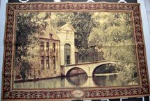 really nice wall tapestry with house/bridge / (390$)i have a really nice wall tapestry in great condition,the print is house and bridge,the mesurements are 70 inches wide x 48 inches high,i am in brampton area ,ask us what else we have for sale we have a lot,thank youNo Pay Pal