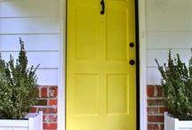 front doors / by Minon Frye