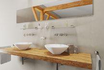 Badkamerstijlen / Een verzameling badkamer inspiratie foto's van de badkamerstijlen Modern, Landelijk en Wellness.