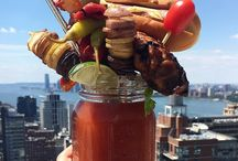 Bloody Mary Brunch / Blood Mary recipes, inspiration, and photos you NEED in your life.