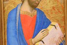 Andrea di Bartolo (Firenze, fine XIV sec.). Santo in mezzobusto / Andrea di Bartolo (Firenze, fine XIV sec.). Santo in mezzobusto. Caen, musée de beaux arts