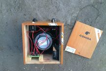 Cigar box amps & stomp boxes