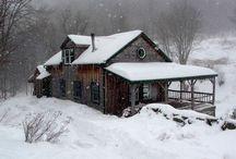 6 winter landscapes