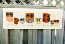 OWLS! Ok, I now have a new obsession. / by Leana Miller