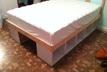Bed/bedroom space