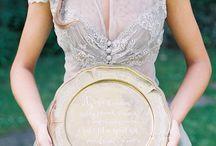 Dusty Blue Wedding   Wesele w odcieniach błękitu / Więcej wyjątkowych inspiracji znajdziesz na: www.dream-design.pl