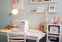 I {Heart} Craft Rooms  / Craft and Sewing Rooms...ideas, dreams, great ideas / by LaKeta Siler Ille