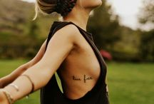 Tattoos / when i get one, i will love it.