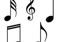 Musical Patterns/stencils/vectors