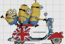 Cross stitch - minions
