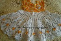 Niñas vestidos