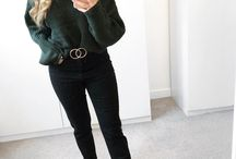 MY STYLE / Fashion, outfits, fashion inspiration, outfit ideas, jeans, jumpers, mom jeans, boots, style, women's fashion,