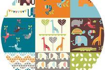 Fabric / by Emmaline Bags & Patterns