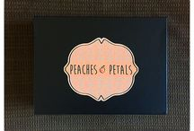 """Peaches & Petals / About: """"Experience our world of fun, flirty and fashionable vintage-modern lifestyle in a hand-curated box delivered to you each month."""" For full subscription box reviews, visit http://musthaveboxes.com."""