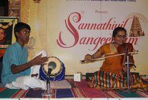 "GIRI presents ""SANNITHIYIL SANGEETAM"" - 05-Dec-2015 / Violin concert by SUBHASHREE accomponied by Mridangam - Ashok"
