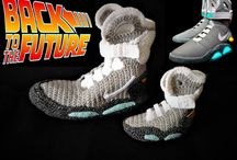 Back to the Future Nike Air Mag Mommy and me Matching Shoes Knit Slippers, Father Son Matching Shoes Slippers,Mommy and Me Crochet Slippers