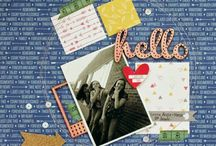 Elle's Studio Projects / Scrapbooking projects created with Elle's Studio products.