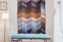 patchwork quilt wall hanging
