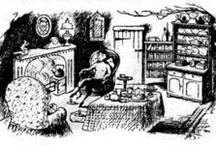 Rooms from literature I loved as a child