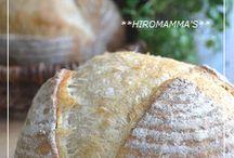パンにまつわるレシピ / パンのレシピ、パンをアレンジしたレシピ、及びパンに合う料理のレシピ集