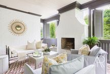 SOUTHERN HOME + Laurel Powell Designs / All images are ©AlyssaRosenheck  A beautiful traditional southern home featured in Southern Home Magazine with Laurel Powell Designs.