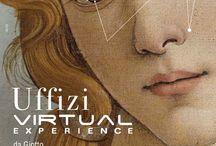 Uffizi Virtual Experience / La prima digital exhibition immersiva e interattiva realizzata in Italia, dedicata alla Galleria degli Uffizi di Firenze
