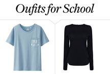Back-to-School Fashion / Cute outfits for back-to-school
