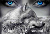 Women wolfs spirit