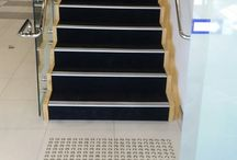 Stair Nosings / We offer solutions for all substrates weather it be internal or external and for all environments and substrates. Our core products exceed the requirements of the Australian/New Zealand Standards AS4586:2004, Slip resistance classification of new pedestrian surface material and the National Construction Code. National Constructions Code 3.2 and the Australian/New Zealand Standards AS1428 – 2009, Design for access and mobility,