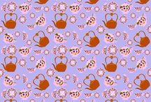 my fabric pattern designs / by artist / inventor Kristie Hubler fabricatedframes.com - WASHABLE FABRIC crafts