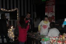 Christmas Market at Social Live Club 2014 / We are happy to tell you that we raised 355 BGN (apx. $225) for our Christmas charity initiative to feed Bulgarian families in need.