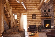▲ WOODEN HOUSES ▲ / Wood is inspiring. Keeps you warm in winter and cool in summer. The dream house.