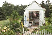 backyard ideas / by Kate Webber