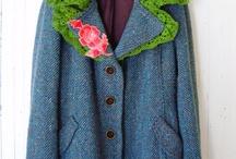 refashion coats / redo sewing
