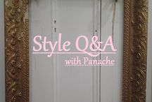 Style Q&A / We're starting a regular blog segment and it's based on what you'd like to learn about fashion!  So ask us anything!  Then check out the answers on our Blog at http://panachewaupaca.com/blog/