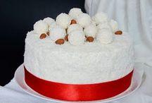 torták, sütik