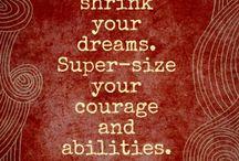 Inspiration/Motivational / by Jennifer Lawson