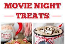 christmas movie night treats
