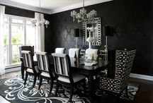 Black and White Rooms
