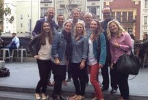 LCI summer outing to Jones / LCI's summer night out in foggy #SF at Jones.