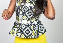 African looks / Always and forever. Prints and patterns with an African twist.
