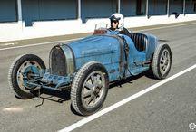 Vintage racecars
