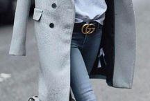 Abrigo Gris outfit
