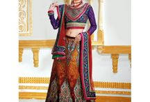 Indian Bridal Wear / Exclusive Bridal Wear Collection for Women http://www.high5store.com/563-bridal-sarees