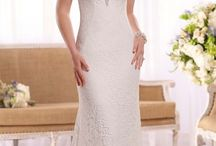 Sheath Wedding Dresses / The sheath is a long, narrow, slim-fitting silhouette with straight, lines. A sheath dress is usually made from lighter fabrics, such as satin or chiffon, which is more suitable for the body-skimming shape of the sheath silhouette.